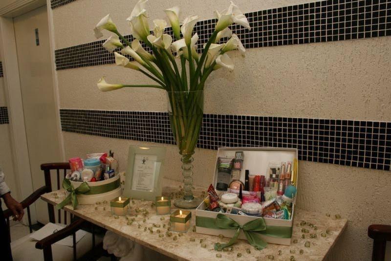 Diário de um Casamento Kit para banheiro  Casamento -> Decoracao De Banheiro Para Festa De Casamento