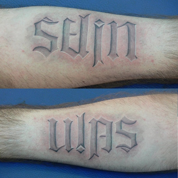 20 Ambigram Tattoos Maker Ideas And Designs