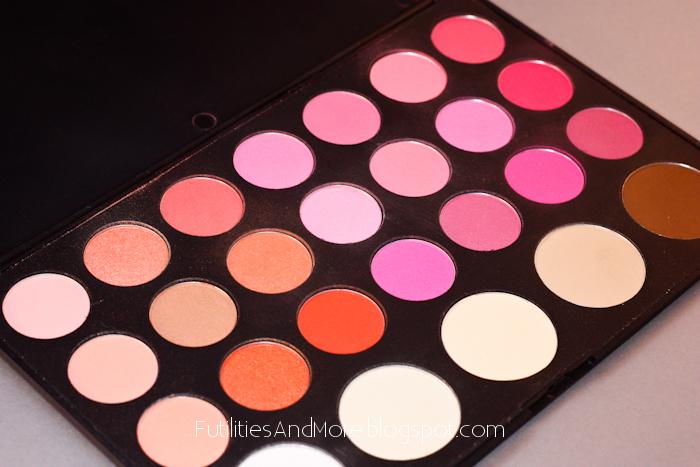 Blush, blush palette, Blushes, Brushes, Brush, Costal scent, futilitiesandmore, futilitiesandmore.blogspot.com