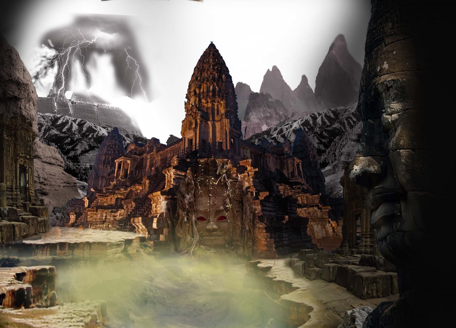 Vignesh reddy 1986 matte painting photoshop work for Matte painting