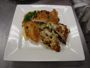 Chicken Piccata with Vegetable Napoleton and Fresh Pasta
