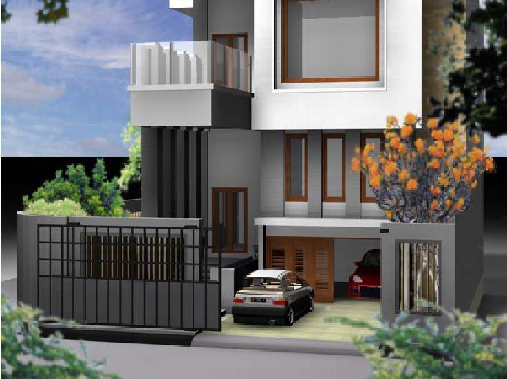 Inilah inspirasi Eksterior Rumah Minimalis Modern 2 Lantai yg bagus