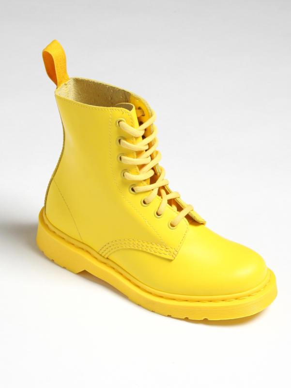 JinxNox Yellow Doc Martens