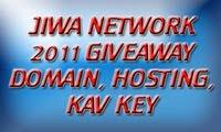 Domain, Hosting & KAV Key I Jiwa Network Giveaway