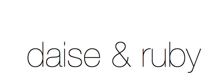 daise & ruby