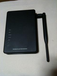 無線ローカルエリアネットワークアクセスポイントの写真