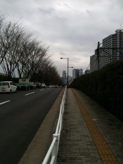 高田馬場から新宿へ向かう写真