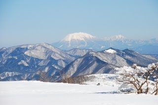 烏帽子山からみた大山はとても美しかったです。