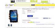 . es la Samsung Galaxy Tablet P1000 con el sistema Android Froyo 2.2 para .