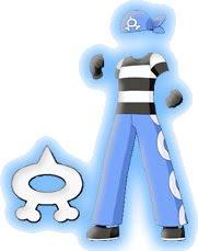 Team água Aqua-uniforme