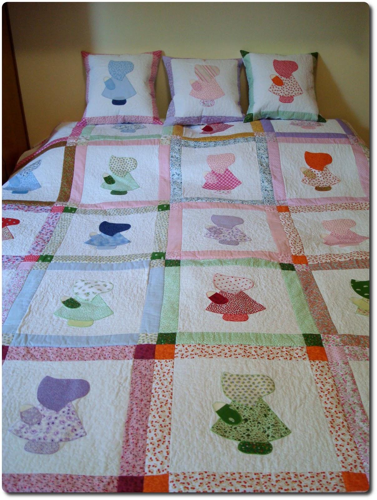 Artes de paula louceiro colcha em patchwork com appliqu - Colcha patchwork ...