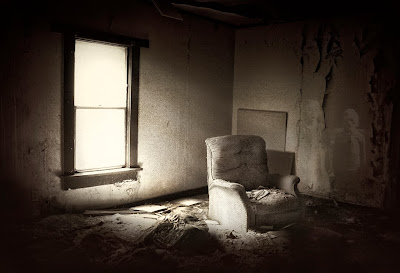 The Creeps Abandoned Living Room And Ghost Children Boise City