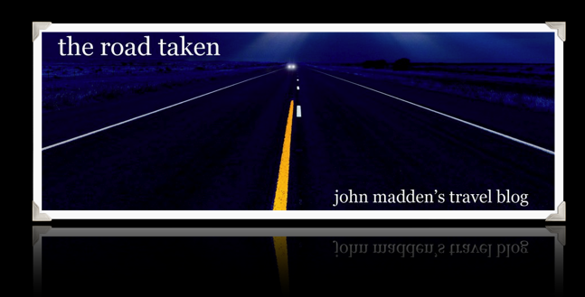 John Madden's Travel Blog