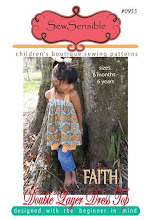 FAITH Double Layer Dress Top Sewing Pattern