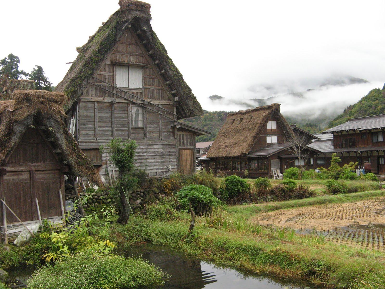 Un an au japon shirakawa g - Maison de vallee au japon par hiroshi sambuichi ...