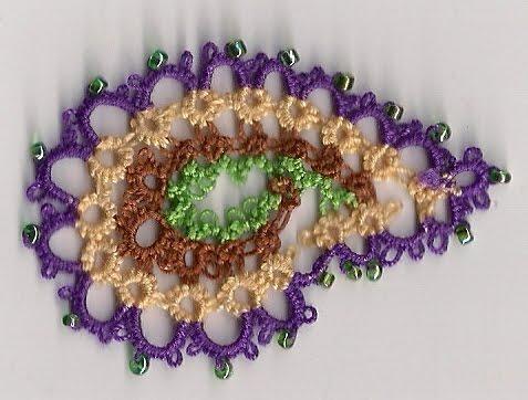 Crochet Paisley #3 | patti haskins