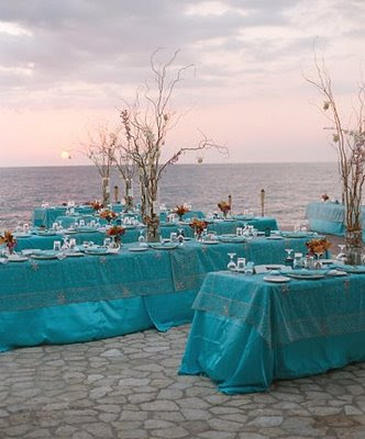 The wedding decorator january 2009 - Decoration table mer ...