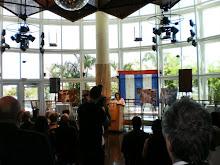 Gloria press conference