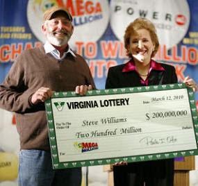 ... Williams - $200 Million Mega Millions Lottery Winner From Virginia