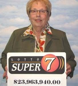 Last Lotto Super Seven Winner Ever: Jean Canning Of Beechy ...