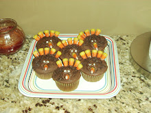 Turkey cupcakes that grandma made