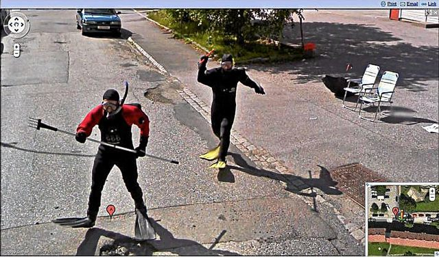 Google Maps Fail. Norwegian Wet Suits Win.