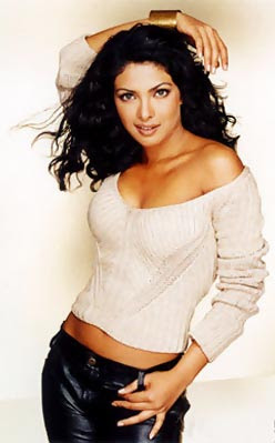 Sexy White Sweater on India Women Actress