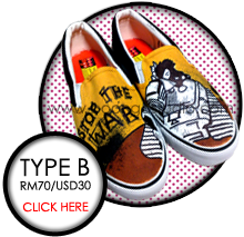 click here for more Type B shoes