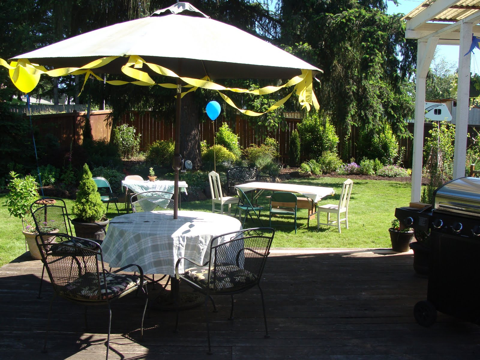 the fun and frugal graduation party