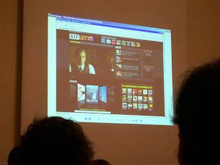 la presentazione di Rifletto TV nella sala del Principe di Piemonte di Viareggio