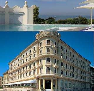 il fantastico Grand Hotel Principe di Piemonte di Viareggio