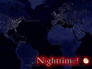 buonanotte google maps. La terra vista di notte con immagini della Nasa