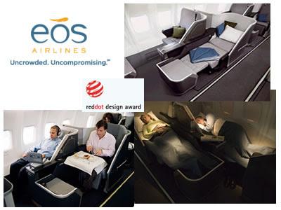 voli di lusso, volare con eos airlines Londra New York, voli di alta qualità