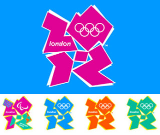 il nuovo logo delle olimpiadi 2012 di Londra