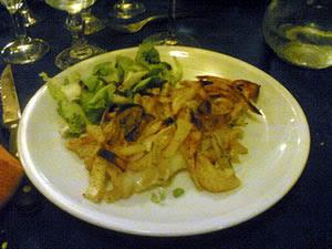 piatto tipico al ristorante di Roma Garbatella LA MOLETTA