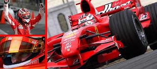 auguri KIMI RAIKKONEN, Il pilota della Ferrari F1 2007