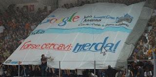 creatività da stadio. Internet e Google anche allo stadio