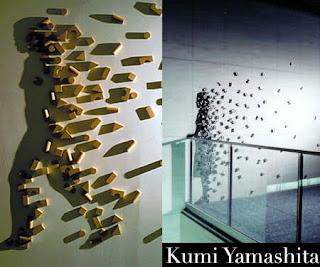 gioco e arte con le ombre. L'artista giapponese Kumi Yamashita