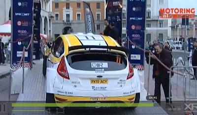 Webhat Rally anche sul retro...