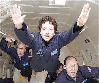 Google man in orbita nello spazio