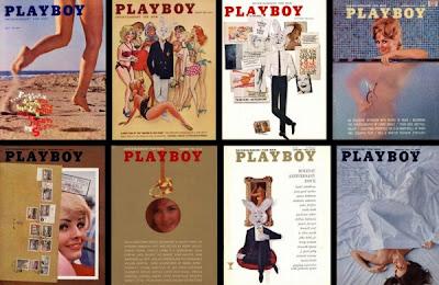 copertine playboy anni 1954 al 2006