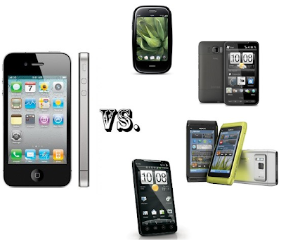 iphone 4g contro smartphone