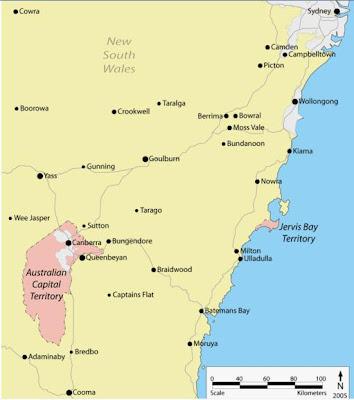 Carte Australie Grande Ville.Audrey En Australie Cartes De L Australie Canberra