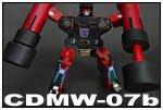 カセット・ロボット装備  CDMW-07b