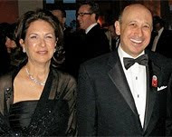 mr and mrs blankfein.