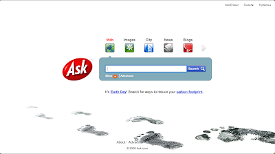 Ask.com Earth Day 2008