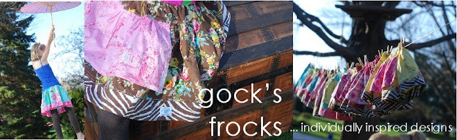 gock's frocks.....individually inspired design