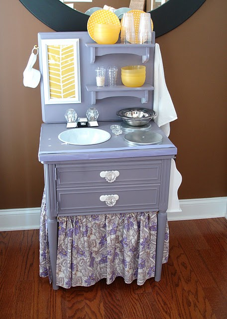 Seahorse Cove Make your own mini kitchen set for your daughter
