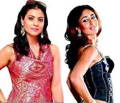 Kajol and Kareena Kapoor
