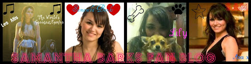 ♥Samantha Barks Fan Blog♥